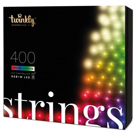 TWINKLY STRINGS 400 LUCI LED BLUETHOOT+WI-FI GENERATION II RGBW PLUG UE