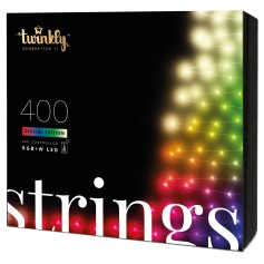 TWINKLY STRINGS 400 LUCI LED BLUETHOOT+WI-FI GENERATION II RGBW PLUG UE