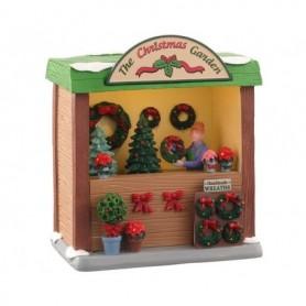LEMAX THE CHRISTMAS GARDEN, B/O (3V) 04744