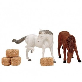 LEMAX FEED FOR THE HORSES, SET OF 6 12511