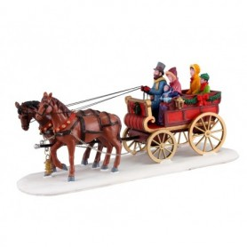 LEMAX CARRIAGE CHEER 13562