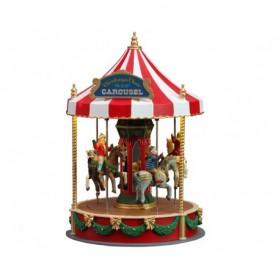 LEMAX CHRISTMAS CHEER CAROUSEL, B/O (4.5V) 14821