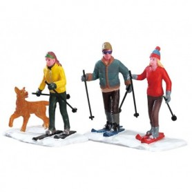 LEMAX CROSS-COUNTRY FRIENDS, SET OF 2 32131