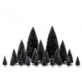 LEMAX 21 PC ASSORTED PINE TREES 34968