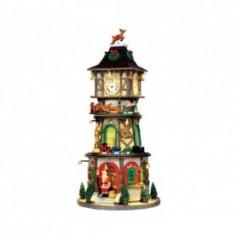 LEMAX CHRISTMAS CLOCK TOWER 45735