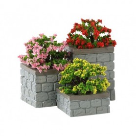 LEMAX FLOWER BED BOXES, SET OF 3 84380