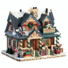 LEMAX LONE PINE CHRISTMAS DECORATIONS 85323