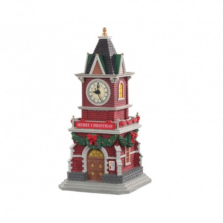 LEMAX TANNENBAUM CLOCK TOWER, B/O (1.5V) 05679