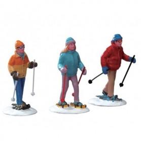 LEMAX SNOWSHOE WALKERS, SET OF 3 22033