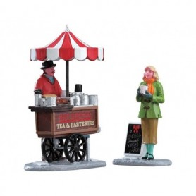 LEMAX WINTER REFRESHMENTS, SET OF 2 42263