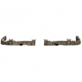 LEMAX COLONIAL STONE WALL, SET OF 10 93304