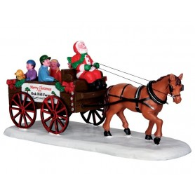 LEMAX SANTA'S WAGON RIDE