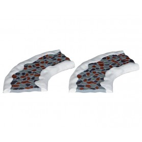 LEMAX 2PC STONE ROAD - CURVED