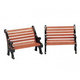 LEMAX PARK BENCH, SET OF 2 34895