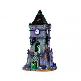 LEMAX HAUNTED CLOCK TOWER