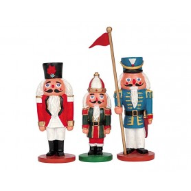 LEMAX NUTCRACKERS, SET OF 3