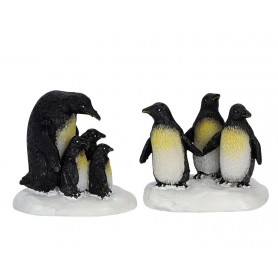LEMAX PENGUINS, SET OF 2