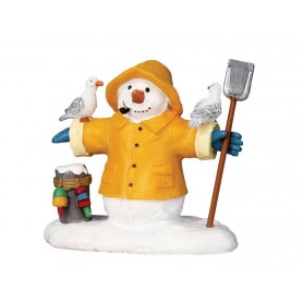 LEMAX FISHERMAN SNOWMAN