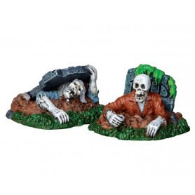 LEMAX ZOMBIES!!!, SET OF 2