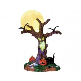 LEMAX SCARY MOONLIT TREE