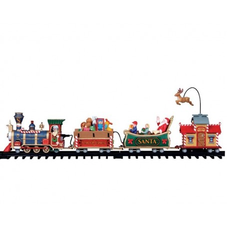 LEMAX THE STARLIGHT EXPRESS, SET OF 17 04232