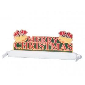 LEMAX YARD LIGHT - MERRY CHRISTMAS W/BELLS