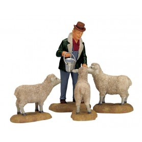 LEMAX THE GOOD SHEPHERD, SET OF 4