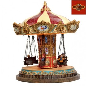 LUVILLE CAROUSEL L18W18H21.5