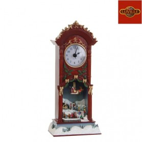 LUVILLE CLOCK WINTER SCENE INCL. MUSIC