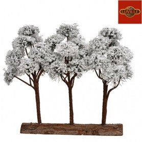 LUVILLE MOUNTAIN PINES 3PCS ON BASE