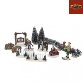 LUVILLE FIGURINES SET OF 12