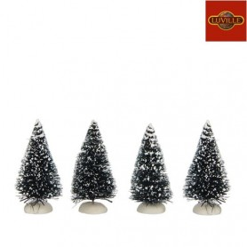 LUVILLE BRISTLE TREE MINI SET OF 4