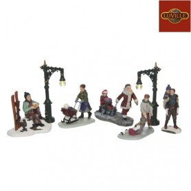 LUVILLE FIGURINES SET OF 7