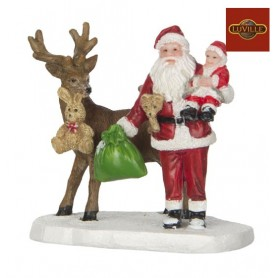 LUVILLE SANTA WITH BABY