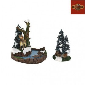LUVILLE MERRY FOREST SET OF 2