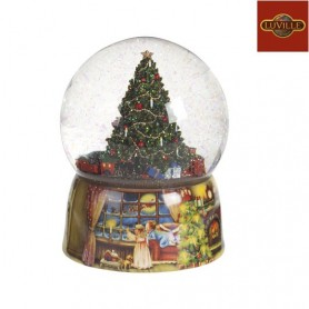 LUVILLE WATERBALL CHRISTMAS TREE&ROTATING TRAIN