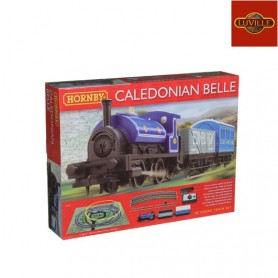 LUVILLE HORNBY CALEDONIAN BELLE TRAIN SET R1151 STEAM LOCOMOTIVE
