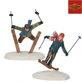 LUVILLE SKI JUMPERS SET OF 2