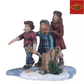 LUVILLE CHILDREN ICE SKATING
