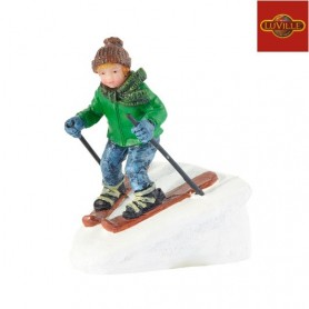 LUVILLE RUDOLPH SKIING