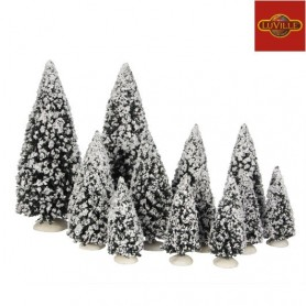 LUVILLE TREE EVERGREEN SET OF 12