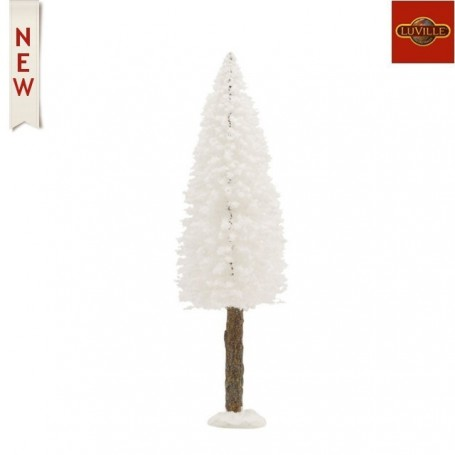 LUVILLE BRISTLE TREE ON LOG WHITE H20XD6