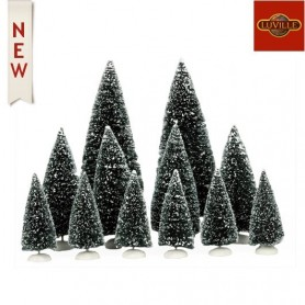 LUVILLE BRISTLE TREE ASSORTED SET OF 12