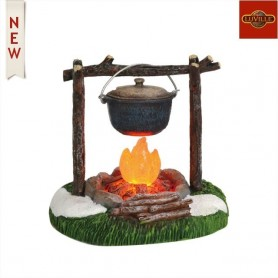 LUVILLE FIRE WITH COOKPOT