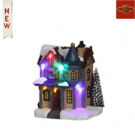 LUVILLE CHRISTMAS HOUSE L10XW8,5XH13