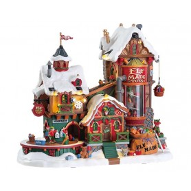 LEMAX ELF MADE TOY FACTORY 75190