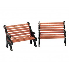 LEMAX PARK BENCH, SET OF 2