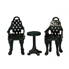 LEMAX PATIO GROUP, SET OF 3